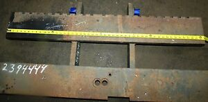 2394444 Clark Forklift Upright Mast Carriage Weld Class 3 Iii Used 49 x20 2 bar