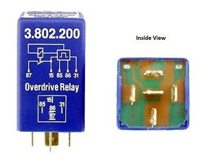 For Volvo 240 260 760 Dl Gle Overdrive Relay Stribel 1259750