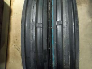 One 400x15 400 15 4 00x15 4 00 15 Allis Chalmer C 3 Rib Tractor Tire With Tube