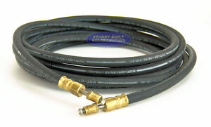 Boat Trailer Hydraulic Rubber Brake Hose Line Dot 18 Flexible With Swivel Heads