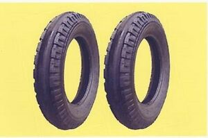 Two 4 00 12 4 00x12 400x12 Firestone Original Front Tractor Tires