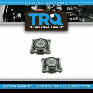 Trq Front Wheel Hub Bearing Modules Pair Set Of 2 New For Toyota Lexus