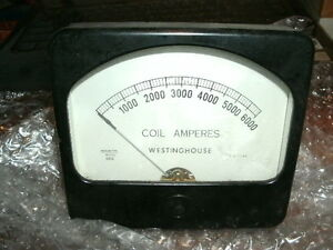 Vintage Hickok Westinghouse 6000 Coil Amp Meter Part 680 381 New No Box
