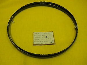 New Marvel Usa 93 1 2 Wood Cutting Carbon Band Saw Blade 7 9 1 2 X 1 2 X 4t