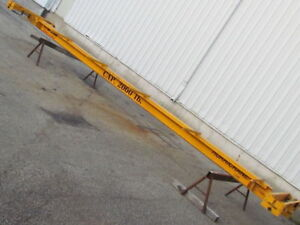 Brehob Single Girder Underhung Chain Fall Hoist Bridge Crane 28 Span 1 ton Cap