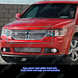 Fits 2011 2018 Dodge Journey Main Upper Billet Grille Insert
