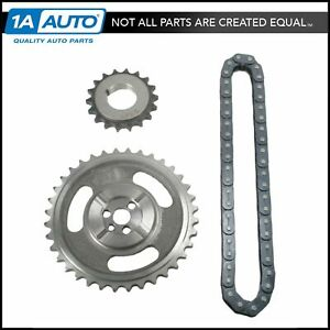 Roller Timing Chain Gear Set Kit For Chevy Gmc Cadillac