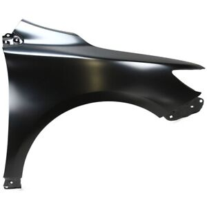 Fender For 2009 2013 Toyota Corolla Japan Built Front Right Primed Steel Capa