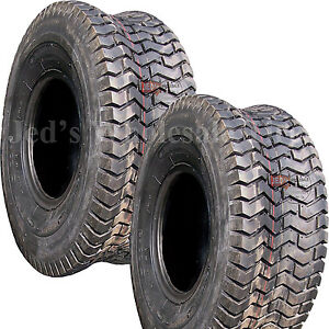 2 11x4.00 5 11x400 5 11 4.00 5 Riding Lawn Mower Go Kart Turf TIRES 4ply DS7016 $32.50