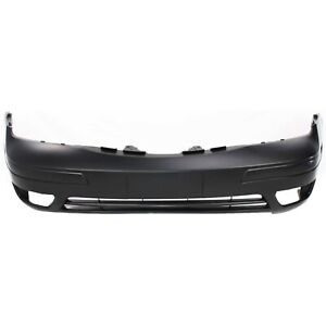Front Bumper Cover For 2005 2007 Ford Focus W Fog Lamp Holes Primed Capa