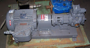 Blackmer 3 Hp 2 Model Pv80b Pump 50 Gpm