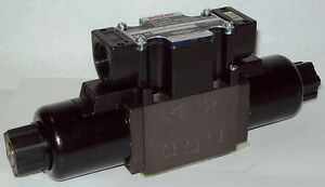 D03 4 Way Shockless Hydraulic Solenoid Valve I w Vickers Dg4v 3 0n wl b 115 Vac