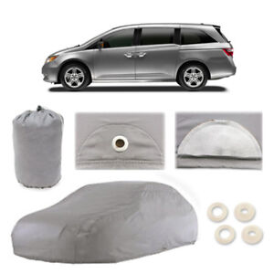 Fits Honda Odyssey 5 Layer Car Cover Fitted Outdoor Water Proof Rain Snow Dust