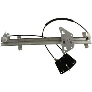 Front Power Window Regulator Driver Side Left Lh For Durango Dakota Quad Cab