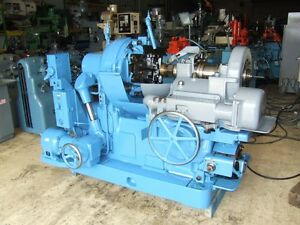 Gleason No 12 Bevel Gear Generator 17 Dia Capacity Rated Max Capacity 3dp