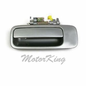 For 1997 2001 Toyota Camry Rear Left Outside Door Handle Gray 1b2 Driver B447