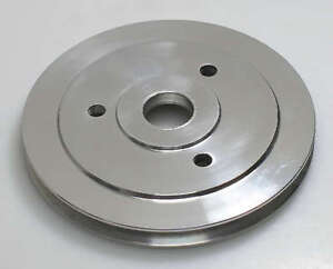 Sbc Chevy Aluminum Single Groove Swp Crank Pulley Lower Short 9480 Clearance