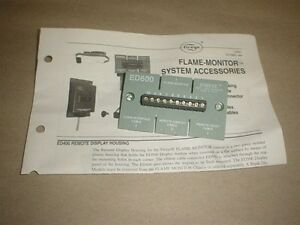 Fireye Terminal Strip Connector Part Ed600 For Ed500 Flame Monitor