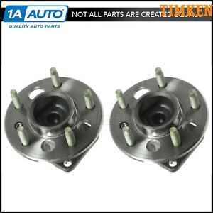 Rear Wheel Hubs Bearing Left Right Pair Set For Chevy Buick Cadillac Olds