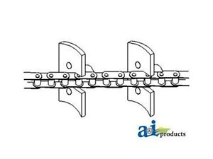 248043 Clean Grain Elev Chain Fits Ford New Holland Combine Tr70