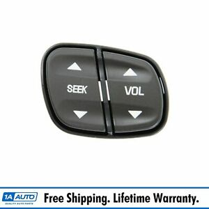 Steering Wheel Seek Volume Radio Control Switch For Chevy Gmc Hummer Isuzu