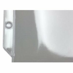 New 8 5 8 X 12 1 8 3 hole Punched Heavy Duty Sheet Protectors Free Shipping