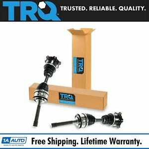 Trq New Front Cv Joint Axle Shaft Pair Set 2pc For 86 95 Toyota 4runner Pickup