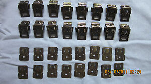 1964 65 Cutlass 442 Skylark Gs Convertible Top Boot Clip Set