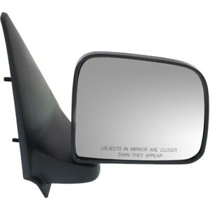 Mirror For 1993 2005 Ford Ranger 94 2002 Mazda B3000 Front Right Textured Black
