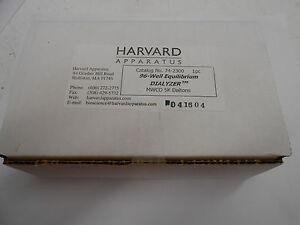 Harvard Apparatus 74 2300 96 well Equilibrium Dialyzer Mwco 5k Daltons