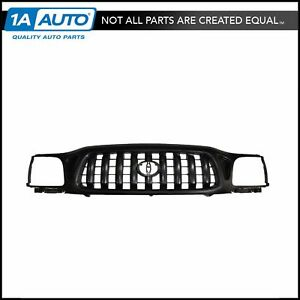 Front End Grille Grill Black New For 01 04 Toyota Tacoma Pickup Truck
