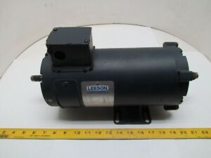 Leeson C4d17nk47a 2hp 1750rpm 180vdc Tenv Direct Current Motor Double Shaft