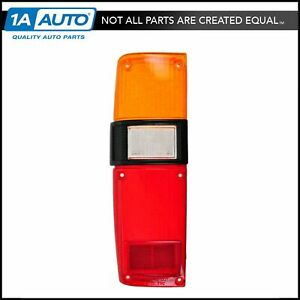 Taillamp Taillight Lens Left Driver Side Rear For 79 83 Toyota Pickup Truck