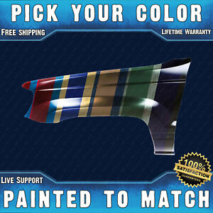 New Painted To Match Drivers Front Lh Fender For 1999 2004 Jeep Grand Cherokee