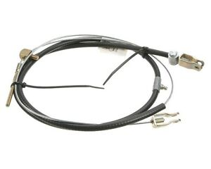 For Mg Mgb 63 76 Parking Brake Cable W Wire Wheels Oem Ahh8451