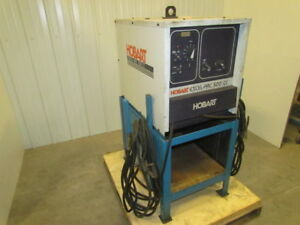 Hobart Excel arc 500cc 400amp Dc Arc Welder On Stand With Leads
