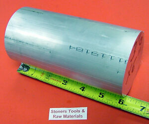 3 Aluminum 6061 Round Rod 6 Long T6511 Solid Extruded Lathe Bar Stock