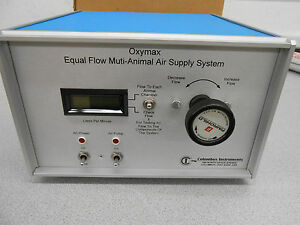 Columbus Instruments Oxymax Equal Flow Multi animal Air Supply System