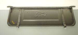 Ford Model A Pickup Steel Tailgate W Ford Logo Lettering 1928 1931