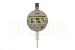 Shars 0 0 5 X 00005 001mm Digital Electronic Indicator Gage Gauge New