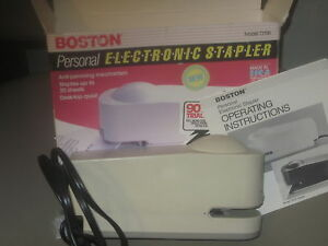 Works Perfectly Electric Stapler Made In Usa Boston 73100