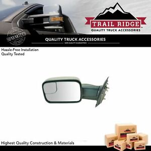 Trail Ridge Towing Mirror Power Heated Driver Side Left Lh For Dodge Ram Pickup