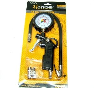 Dial Air Tire Inflator With Gauge Auto Truck Bike Compressor Pistol Type Tg 3