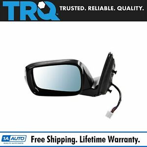 Mirror Power Heated Memory Turn Signal Blue Tint Driver Side For 10 13 Mdx