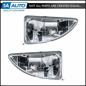 Fog Driving Lights Lamps Left Right Pair Set For 00 04 Ford Focus