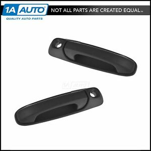 Outside Exterior Outer Front Door Handle Pair Set Of 2 For Dodge Ram Pickup