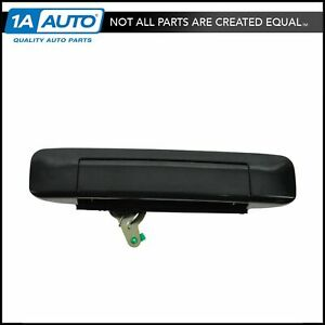 Smooth Black Rear Tailgate Handle For 05 08 Toyota Tacoma Pickup Truck