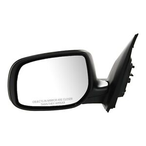 Power Mirror For 2009 2013 Toyota Corolla Driver Side Manual Folding Paintable