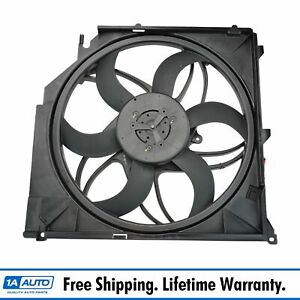 Radiator Cooling Fan Assembly For 04 10 Bmw E83 X3