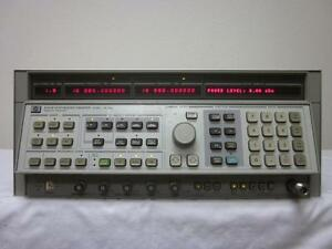 Hp Agilent 8341b 20ghz Synthesized Sweeper Signal Generator W Option 003